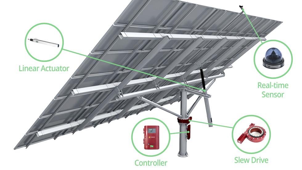 [PARU Solar Tracker] Dual-Axis Tracker03