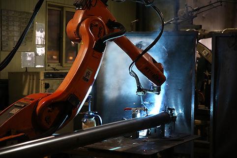 [PARU Solar Tracker] welding robot