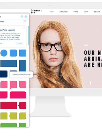 Fashion and Beauty Web Design