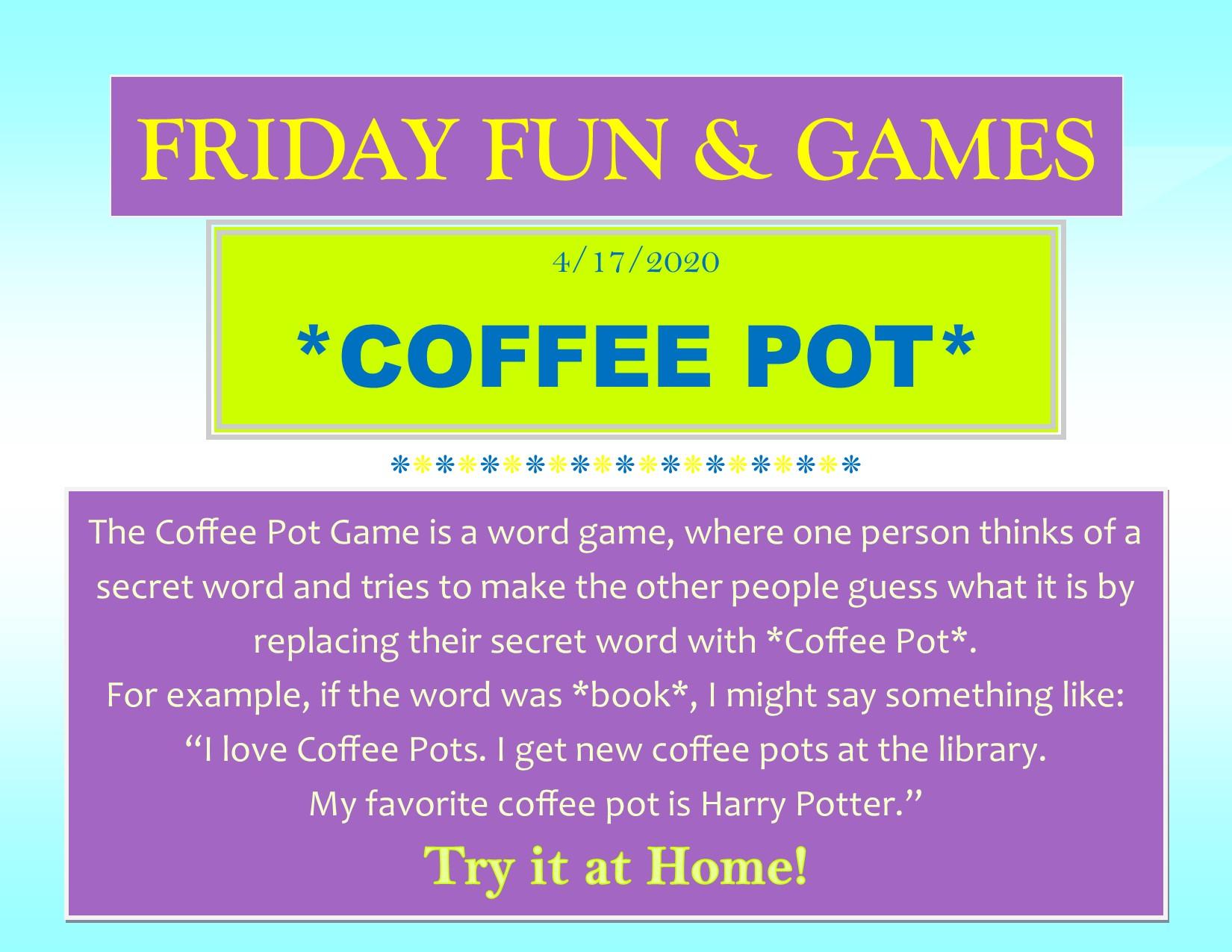fun &games week3