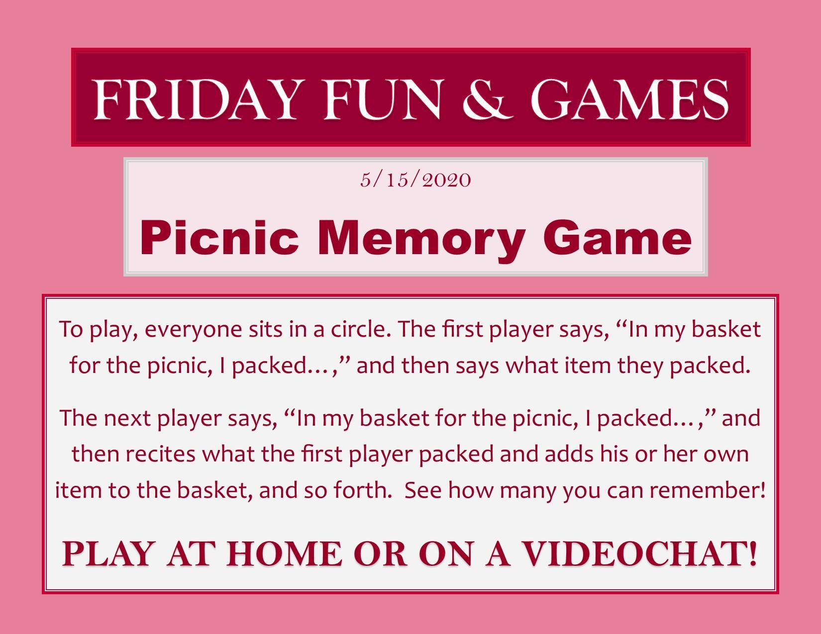 fun &games week7