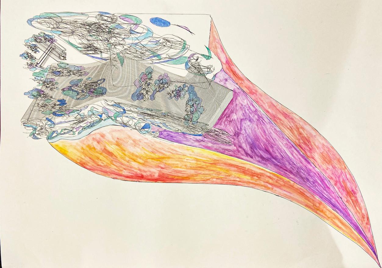 Micro & Macro LINE & TONE Drawing - Siyou Wang