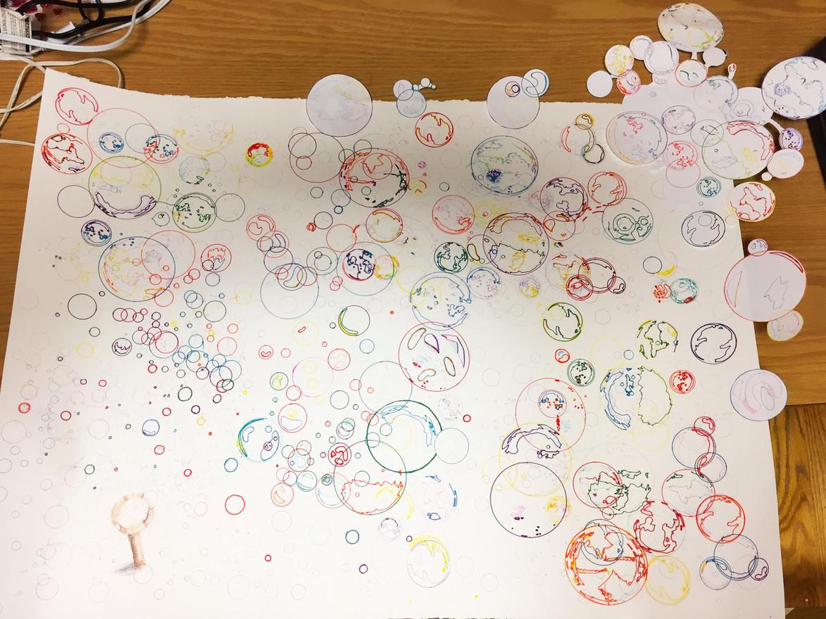 Micro & Macro LINE & TONE Drawing/Collage - Sarah Ruh