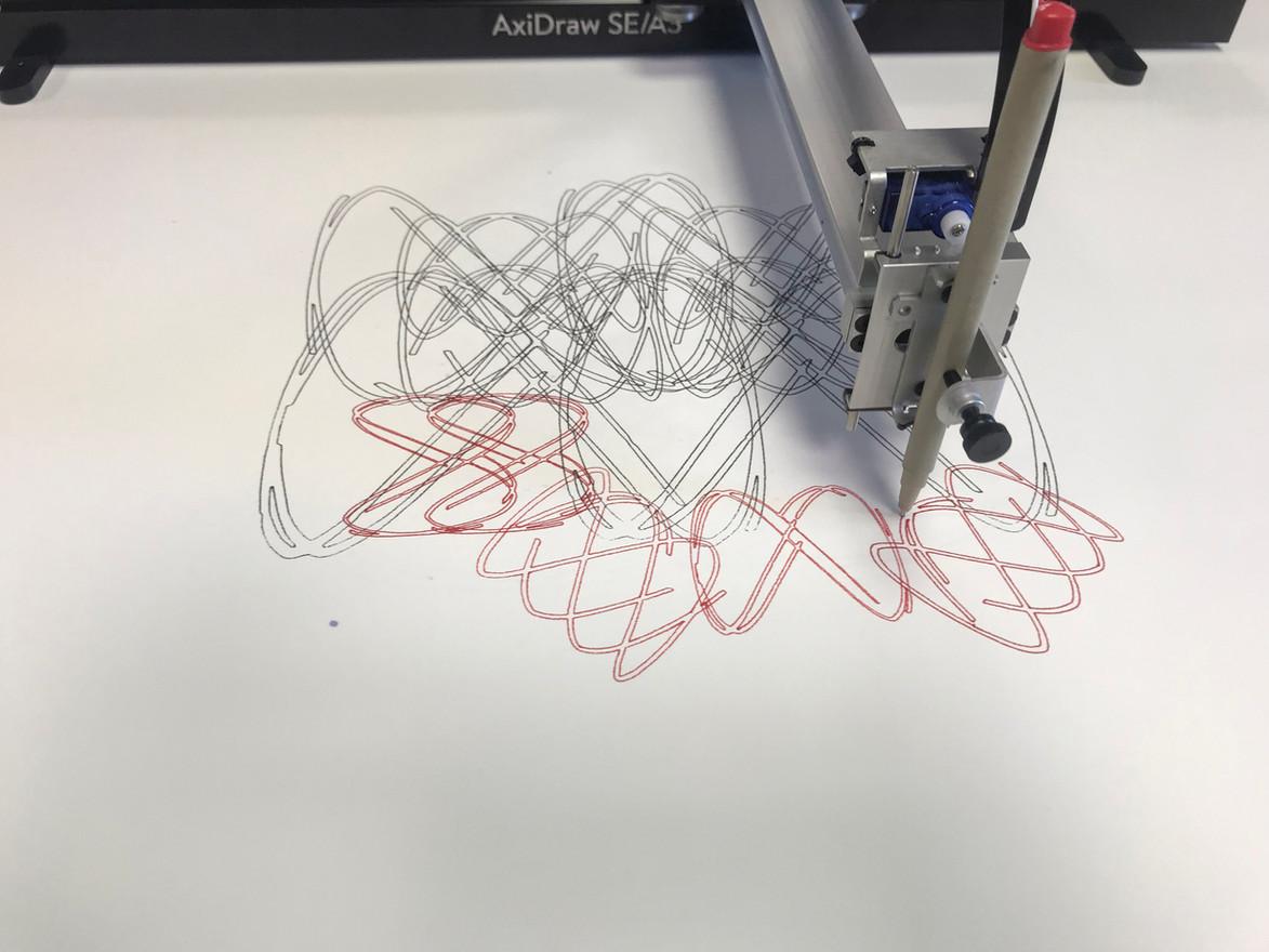 Oscillographic XY Plotter Drawing (In Process) - Siyou Wang