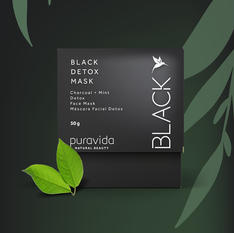 Black Detox Mask Puravida