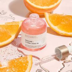 Óleo Facial de Vitamina C com extrato de