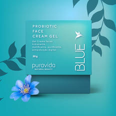 Blue Probiotic Face Cream Puravida
