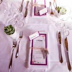 Hochzeitsdekoration Sitzplatz