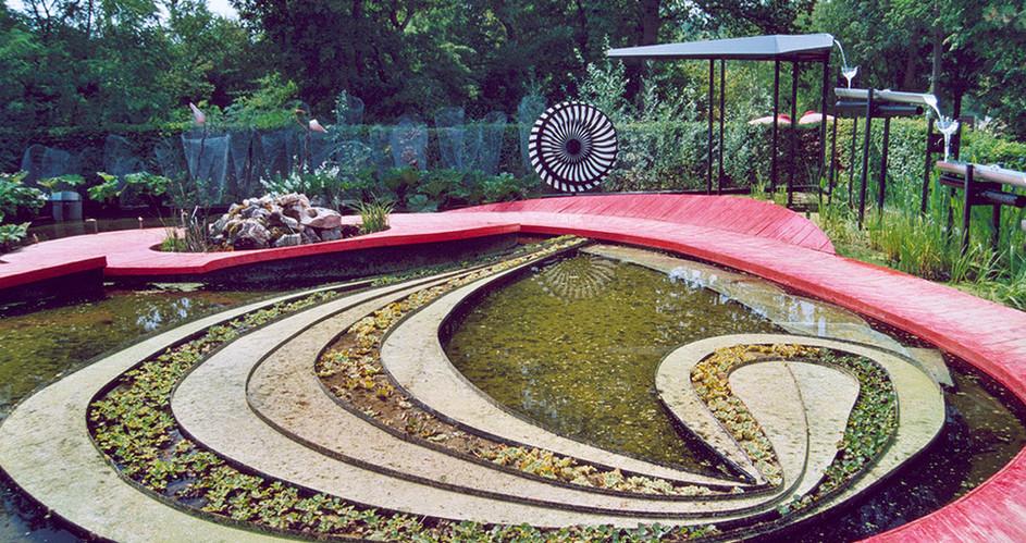 Jardin artistique à Chaumont sur Loire