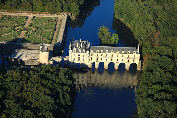Château de Chenonceau en Val de Loire