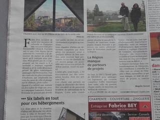 Article Presse locale.