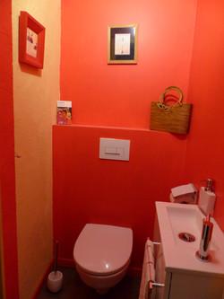 Toilettes de la chambre d'hôtes
