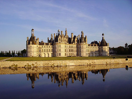 Château de Chambord dans le Val de Loire