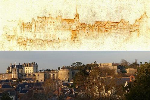 Chateau-royal-dessin-de-Leonard-de-Vinci