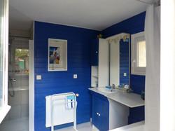 Salle de bains de la chambre d'hôtes