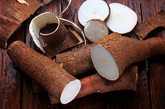 fresh-cassava-peels-slices-rustic-wooden