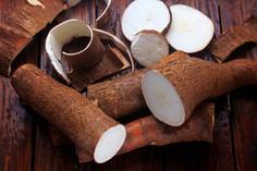 fresh-cassava-peels-slices-rustic-wooden