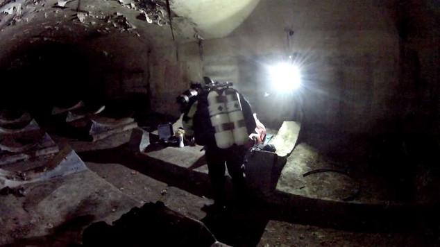 Browar Sobótka - nurkowanie jaskiniowe