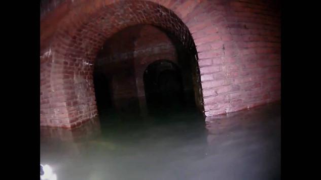 Flooded underworld of Kłodzko Fortress