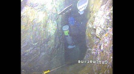 Nurkowanie w kopalni srebra w Bystrzycy Górnej