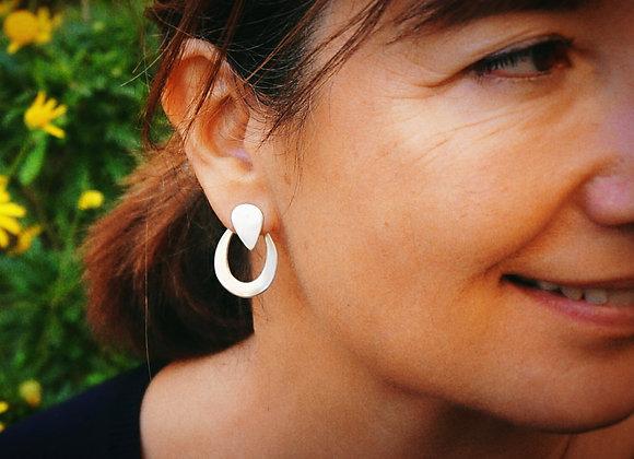 Quilotoa - Boucles d'oreilles Multi-positions