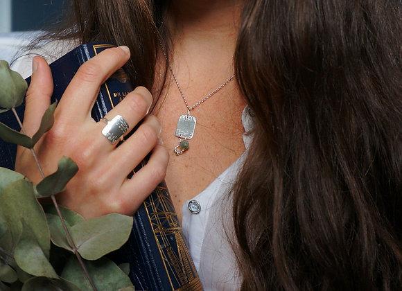 Joie - Collier Argent 925 et Labradorite