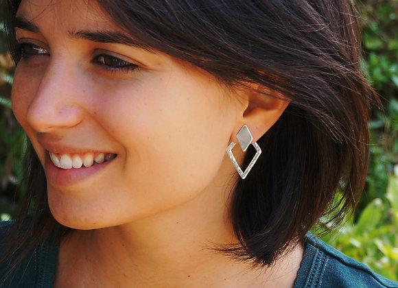 Uyuni - Boucles d'oreilles Multi-positions