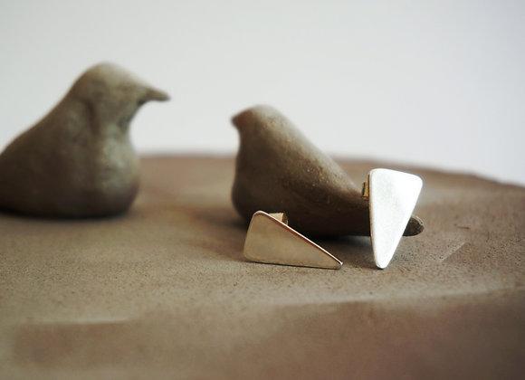 Triangle - Boucles d'oreilles en Argent 925