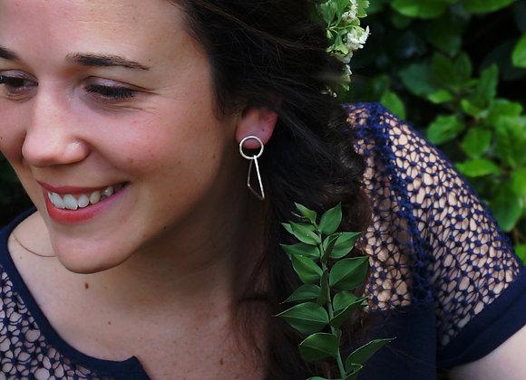 Taiga - Boucles d'oreilles Argent 925