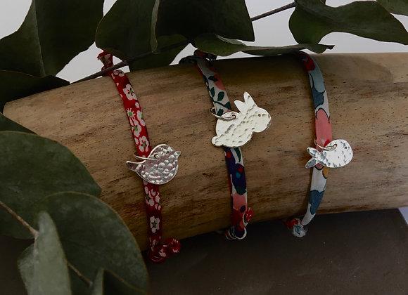 Bracelet Fauna en argent 925