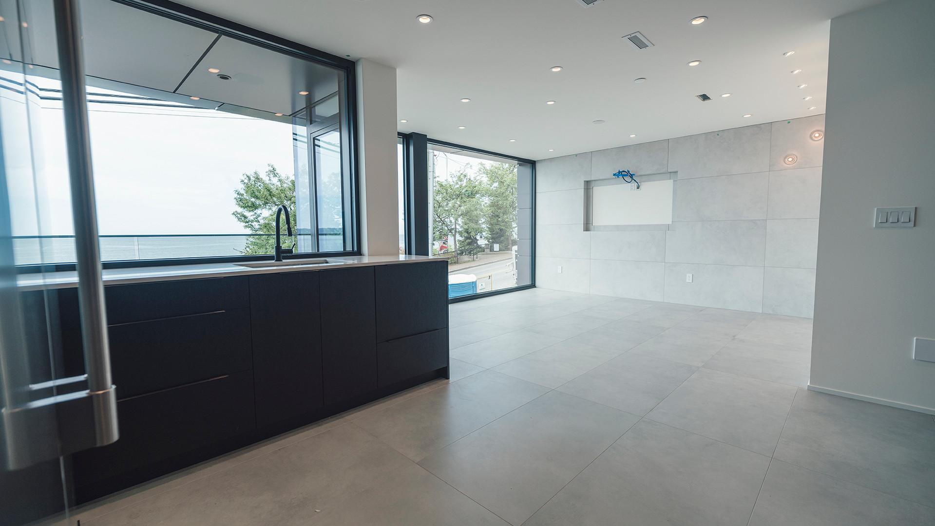Secondary kitchen & Playroom