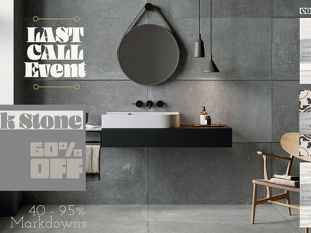 Last Call Sales Event - Week 1 - 40 to 95% Markdowns!