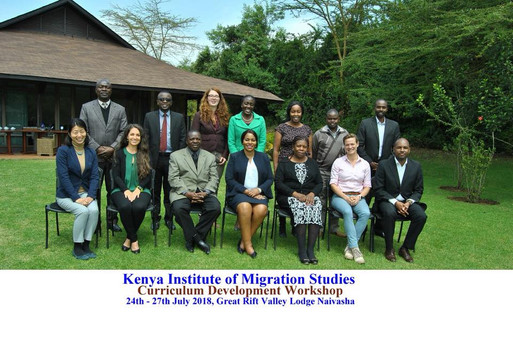 Kenya Institute of Migration Studies Curriculum Development Workshop 2018