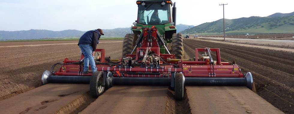 Triple Bed Former Reverse Tiller Farming