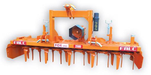 Fox Power Harrows California