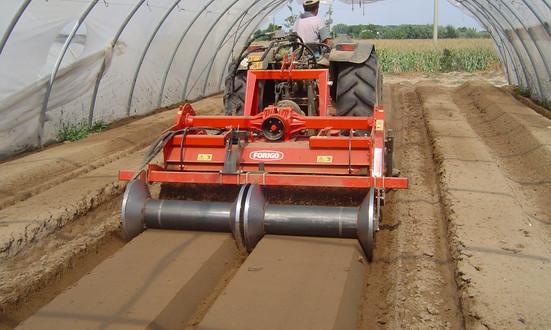 Duplex Reverse Tiller Farming