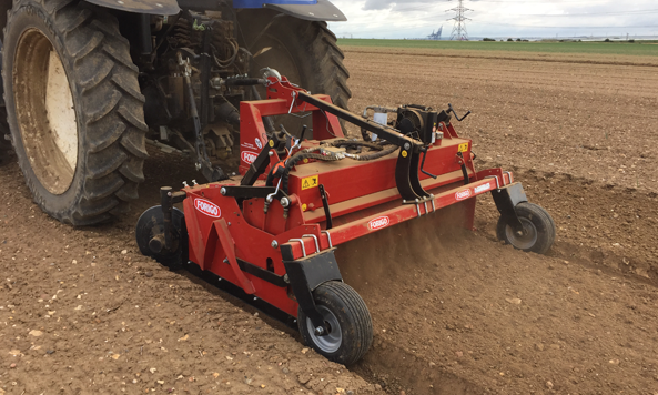 Polyformer Power Harrow Equipment