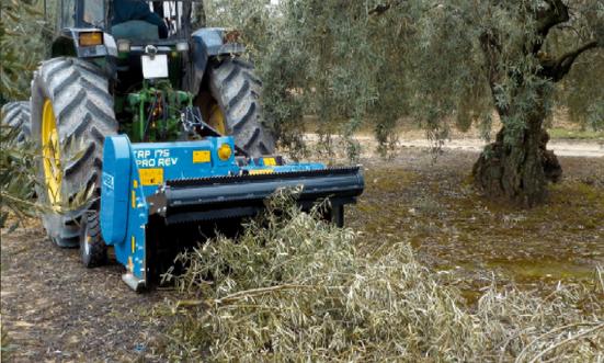 Shredder TRP PRO REV Equipment