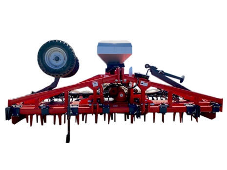 Seeder Front View