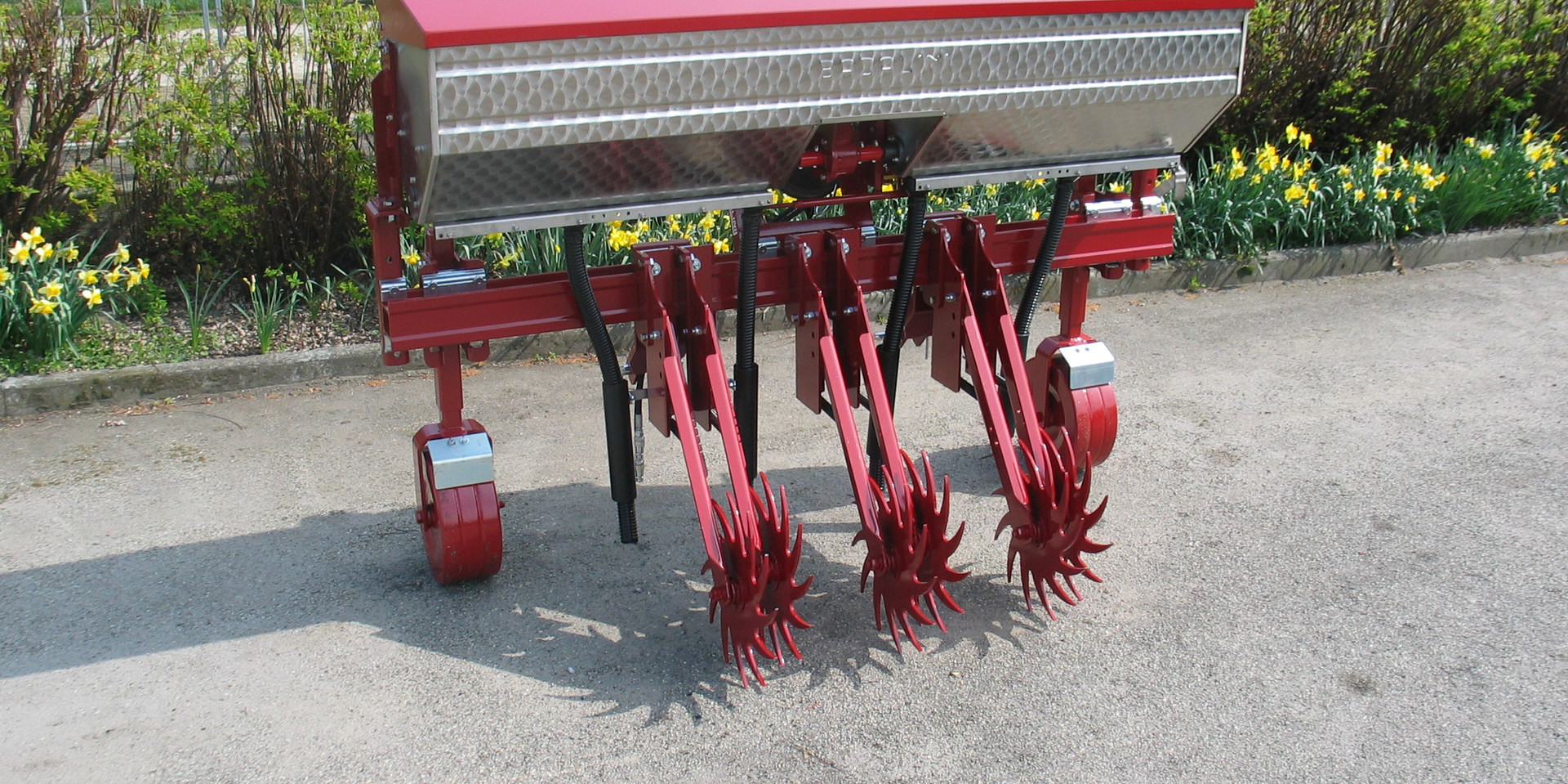 Inter Row Cultivator Weed Control California