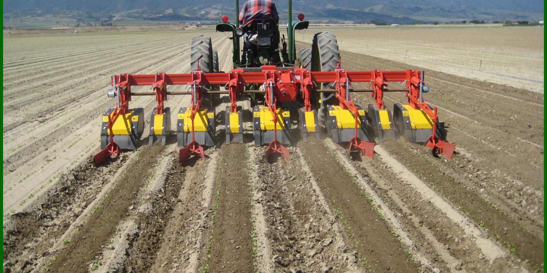 Multirototiller Weed Control Agricultural