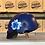 Thumbnail: VROOM Floral Blue Bike Helmet