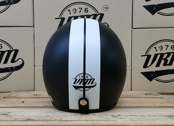 VRM 1976 PAINTED Stripes Matte Black with White