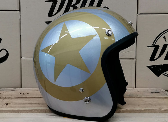 VRM 1976 PAINTED Black Star Gloss Silver