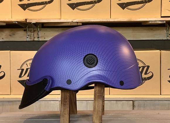 VROOM Bucket Purple Bike Helmet