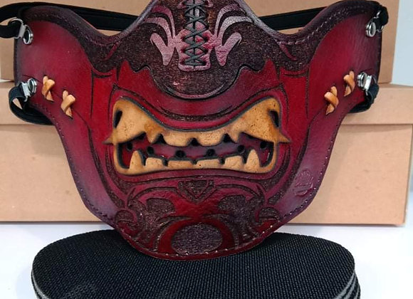 VRM Painted Leather Mask