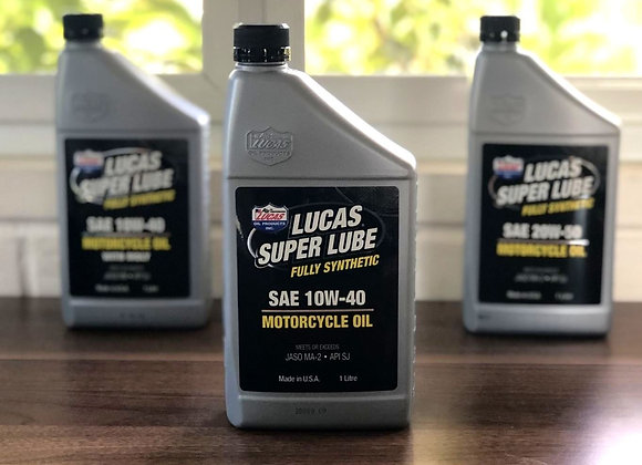 LUCAS Fully Synthetic Motorcycle Oil 10w40
