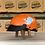 Thumbnail: VROOM Kids NonSon Orange Whale Bike Helmet