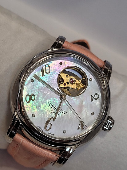 Tissot Open Heart Mother Of Pearl💝