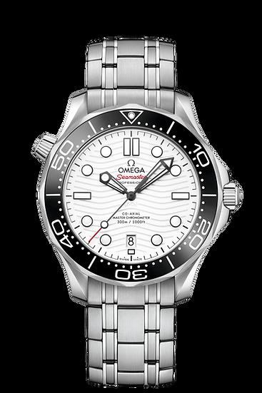 Omega Seamaster Diver Chronometer 42mm White Dial